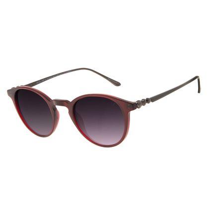 Óculos de Sol Feminino Harry Potter Bolas de Quadribol Clássico Vermelho OC.CL.3387-0116