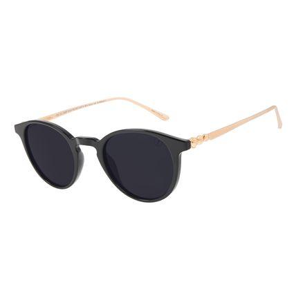 Óculos de Sol Feminino Harry Potter Bolas de Quadribol Clássico Preto OC.CL.3387-0101
