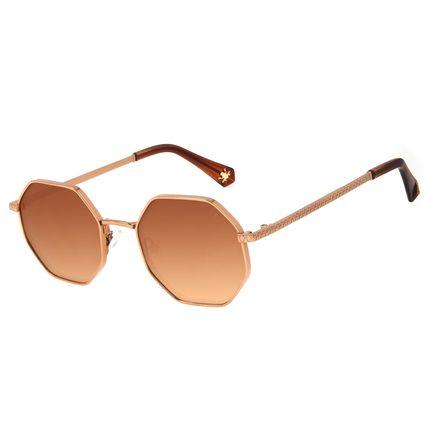 Óculos de Sol Feminino Harry Potter Sapo de Chocolate Degradê Marrom OC.MT.3198.4702