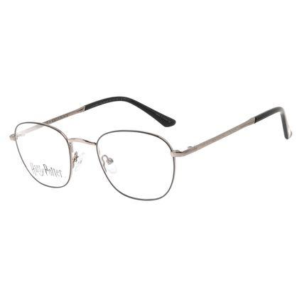 Armação Para Óculos de Grau Unissex Harry Potter Sirius Black Redondo Ônix LV.MT.0567-0122