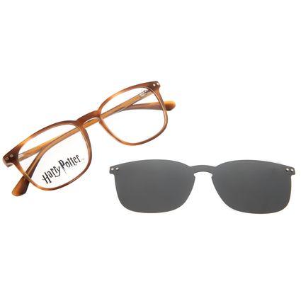 Armação Para Óculos de Grau Masculino Harry Potter Tom Marvolo Riddle Multi Polarizado Tartaruga LV.MU.0646-0106