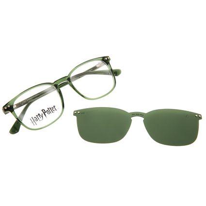 Armação Para Óculos de Grau Masculino Harry Potter Tom Marvolo Riddle Multi Polarizado Verde LV.MU.0646-1515