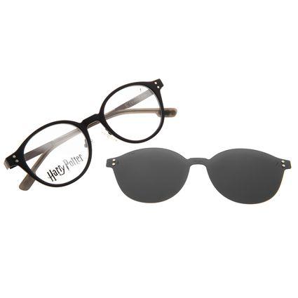 Armação Para Óculos de Grau Unissex Harry Potter Comensais da Morte Multi Preto Polarizado LV.MU.0650-0101