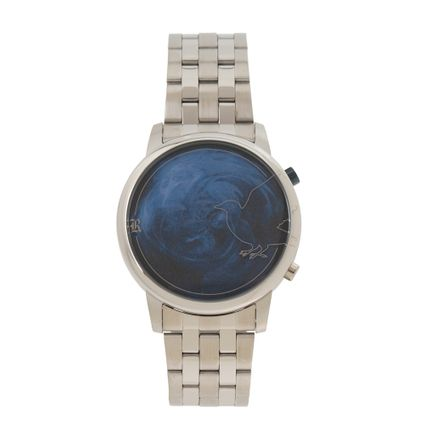 Relógio Digital Masculino Harry Potter Ravenclaw Prata RE.MT.1232-0807