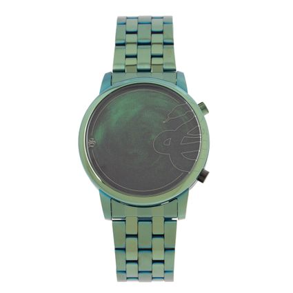 Relógio Digital Masculino Harry Potter Slytherin Verde RE.MT.1232-1515