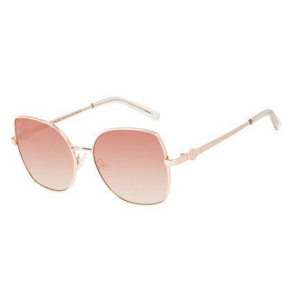 Óculos de Sol Feminino Teen Disney Princess Bela Dourado OC.KD.0706-2021