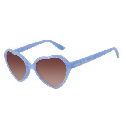 Óculos De Sol Infantil Disney Princess Cinderela Degradê Azul OC.KD.0707-5708