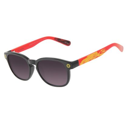 Óculos de Sol Infantil Disney Carros Redondo Preto OC.KD.0710-2001