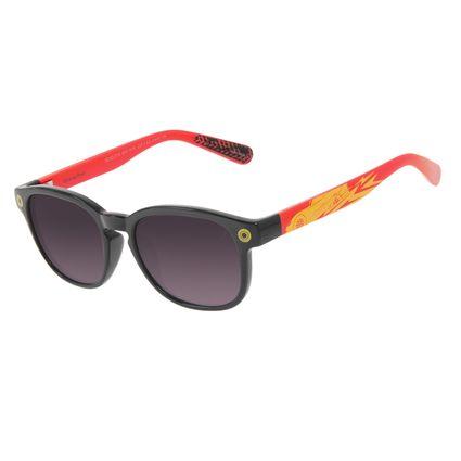 Óculos de Sol Infantil Disney Cars Redondo Preto OC.KD.0710-2001