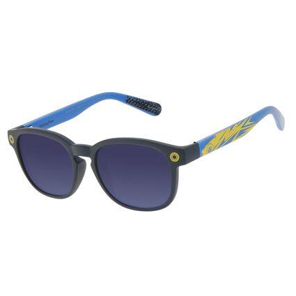 Óculos de Sol Infantil Disney Cars Redondo Azul OC.KD.0710-0808