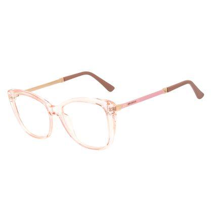 Armação Para Óculos de Grau Feminino Chilli Beans Cat Cristal Rosé LV.IJ.0233-9595