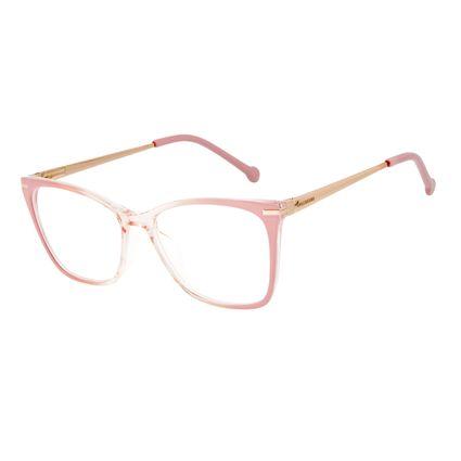 Armação Para Óculos de Grau Feminino Chilli Beans Cat Metal Rosé LV.IJ.0236-9521