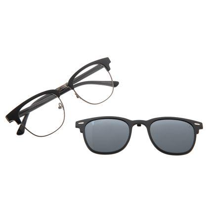 Armação Para Óculos de Grau Unissex Chilli Beans Multi Polarizado Preto LV.MU.0545-0701