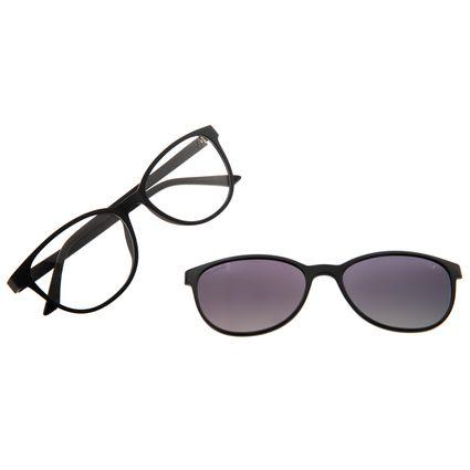 Armação Para Óculos de Grau Feminino Chilli Beans Multi Fosco Preto LV.MU.0546-2001