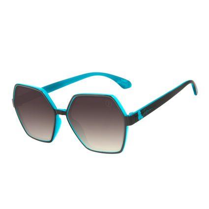 Óculos de Sol Feminino Teen Disney Princess Jasmine Quadrado Degradê Marrom OC.KD.0708-5702
