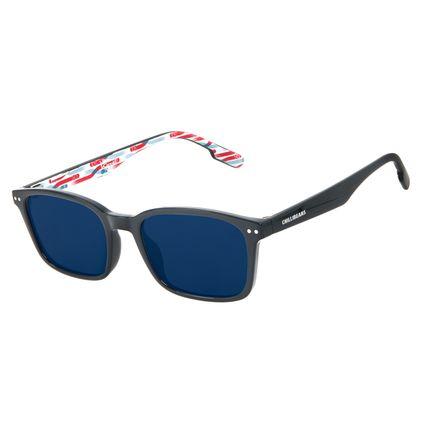 Óculos de Sol Infantil Disney Cars Quadrado Azul OC.KD.0709-0808