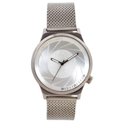 Relógio Analógico Feminino Chilli Beans Fashion Metal Escovado Prata RE.MT.1109-0707