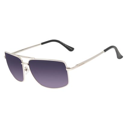 Óculos de Sol Masculino Chilli Beans Executivo MT Prata OC.MT.3207-0507