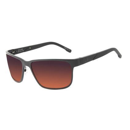 Óculos de Sol Masculino Chilli Beans Esportivo Polarizado AL Degradê Marrom OC.AL.0265-5701