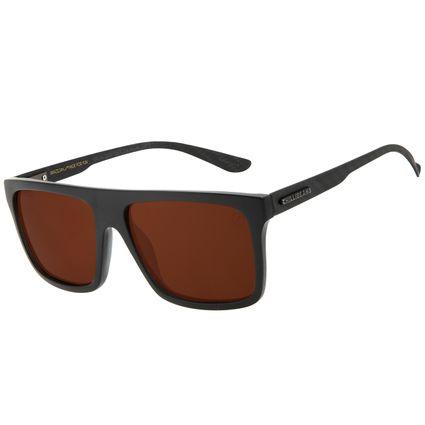 Óculos de Sol Masculino Chilli Beans Bossa Nova Polarizado CL Marrom OC.CL.3230-0201