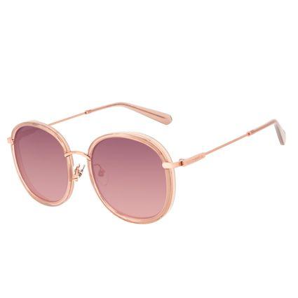 Óculos de Sol Feminino Alok Transparent Line Rosé OC.CL.3350-9523