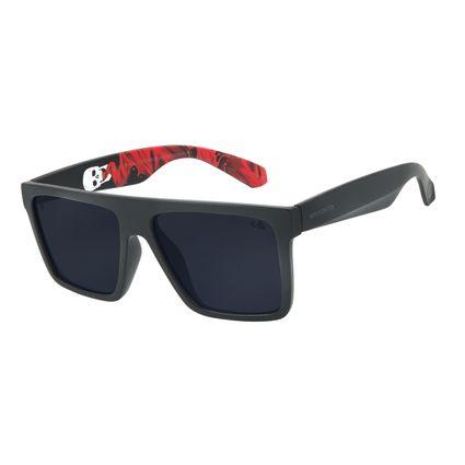 Óculos de Sol Masculino AH Divina Comédia Bossa Nova Fumê OC.CL.3352-0501
